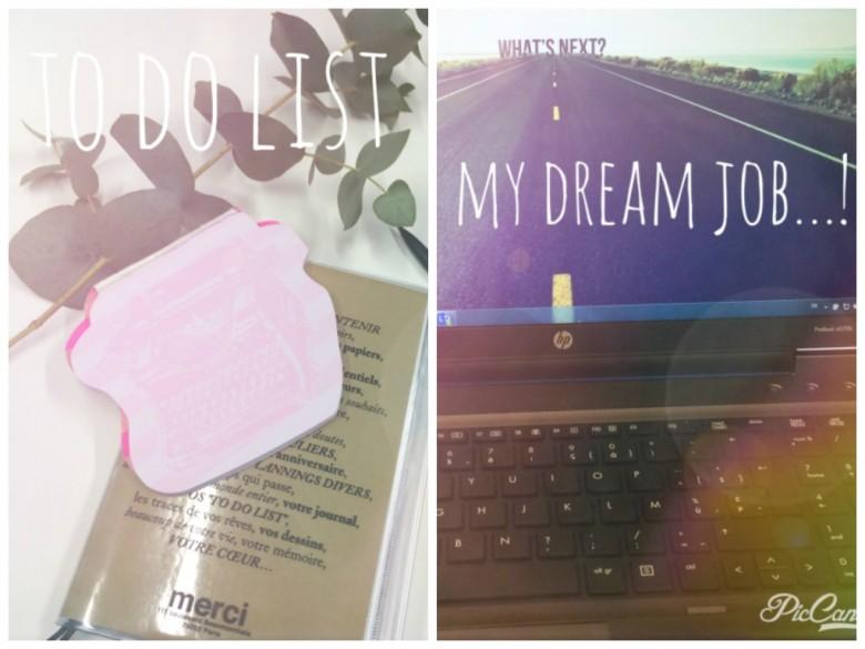 montage to do- dreamjob