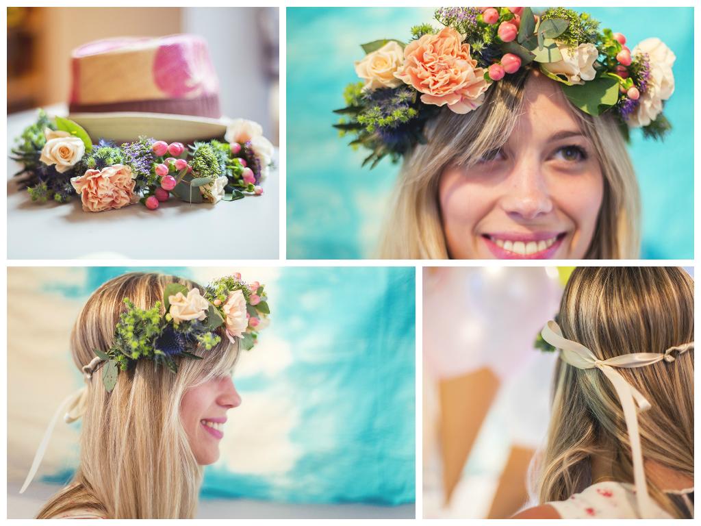 Diy un tutoriel pour r aliser une jolie couronne de fleurs fraiches love - Diy couronne de fleurs ...