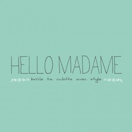 Logo Hello madame mint