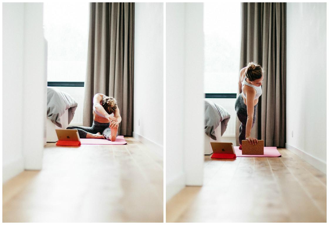 Lovetralala_ma routine matinale, yoga time 2
