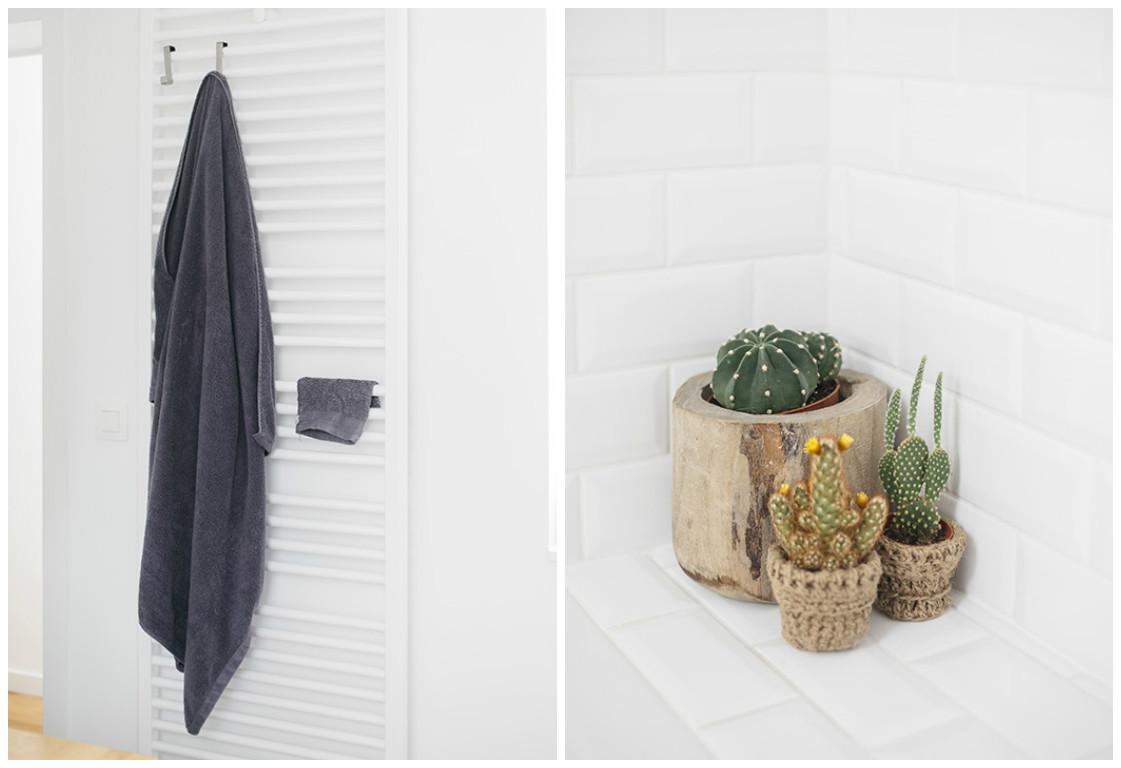 Love & Tralala_ home tour_ma salle de bains: déco avec beaux essuies et cactus
